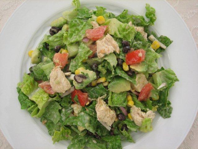 Chipotle Chicken Taco Salad   Kristine's Kitchen