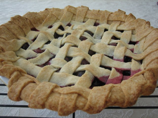 cherry pie ingredients 2 rolled out basic pie dough rounds see recipe ...