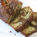 banana bread sliced loaf