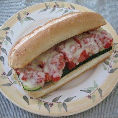 Zucchini Sub Sandwiches