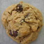 pb oat choc chip cookie
