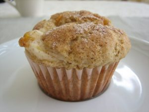 side view muffin