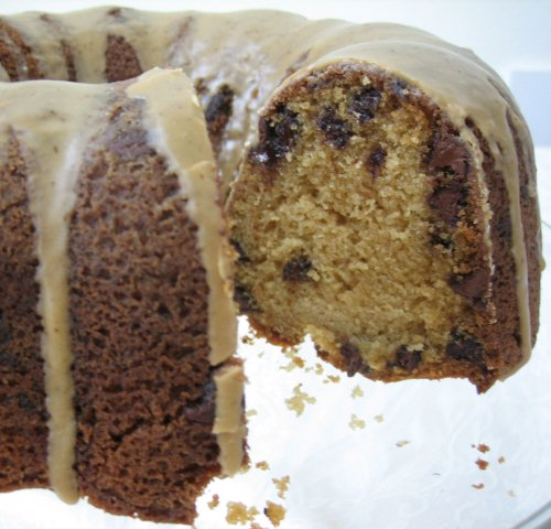 Brown Sugar And Chocolate Chip Pound Cake With Maple ...