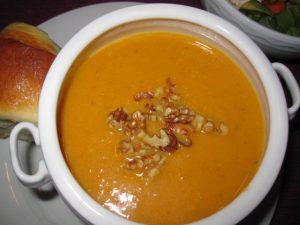 harvest pumpkin soup ~ Kristine's Kitchen