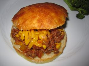 sloppy joes with corn 2