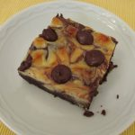 cheesecake-swirled brownies