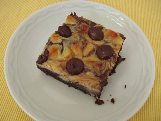 Cheesecake-Swirled Brownies - Kristine's Kitchen