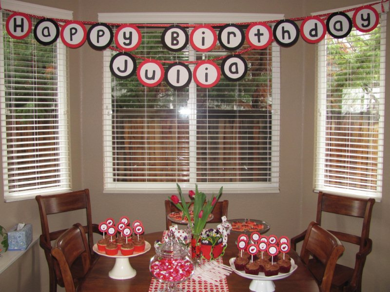 Julias Ladybug Birthday Party Kristines Kitchen