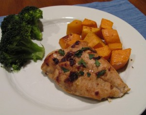 spiced chipotle honey chicken with sweet potatoes ~ Kristine's Kitchen