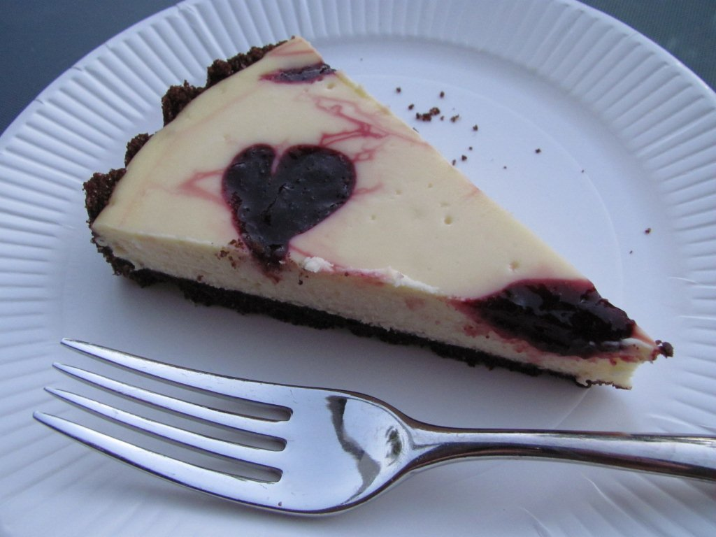 Chocolate-Cherry Cheesecake Tart - Kristine's Kitchen