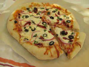 Greek Pizza 1