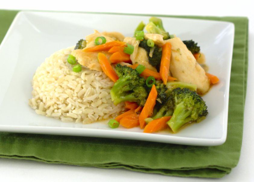 Sweet and Sour Chicken and Broccoli Stir-Fry - Kristine's Kitchen