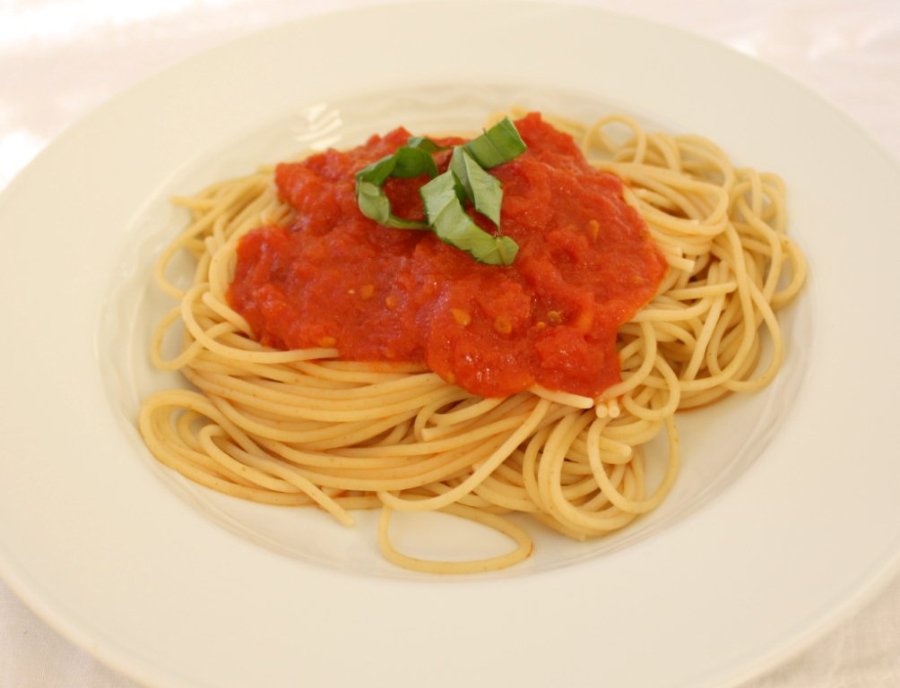 Tomato Sauce with Onion and Butter - Kristine's Kitchen