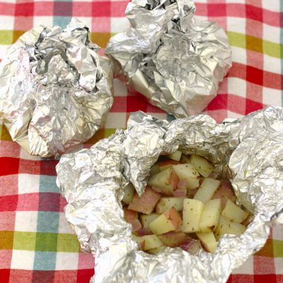 Grilled Potatoes in Foil Packets