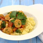 Orzo with sausage, white beans, and spinach_0493 - Copy