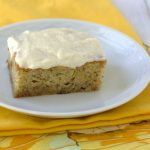 Banana Cake with Vanilla Frosting_0757