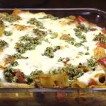 Rigatoni with eggplant and pine nut crunch_1076