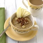 Overnight Apple Cinnamon Steel Cut Oats