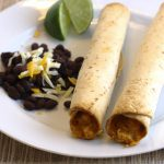 Baked Creamy Chicken Taquitos ~ Kristine's Kitchen