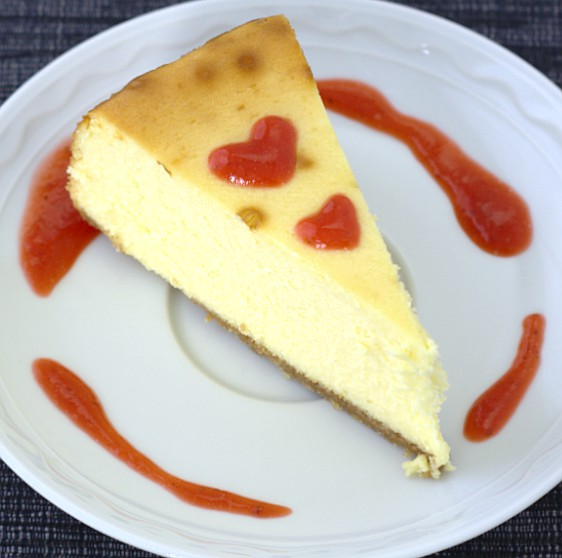 New York Cheesecake - Kristine's Kitchen