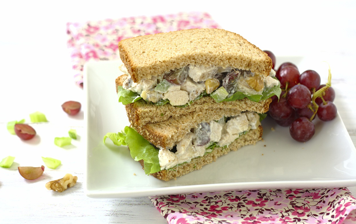 Chicken Salad Sandwiches - Kristine's Kitchen