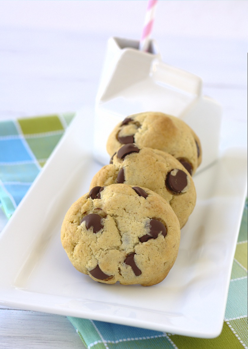 Brown Butter Cream Cheese Chocolate Chip Cookies a delicious mouthful. | Kristine's Kitchen