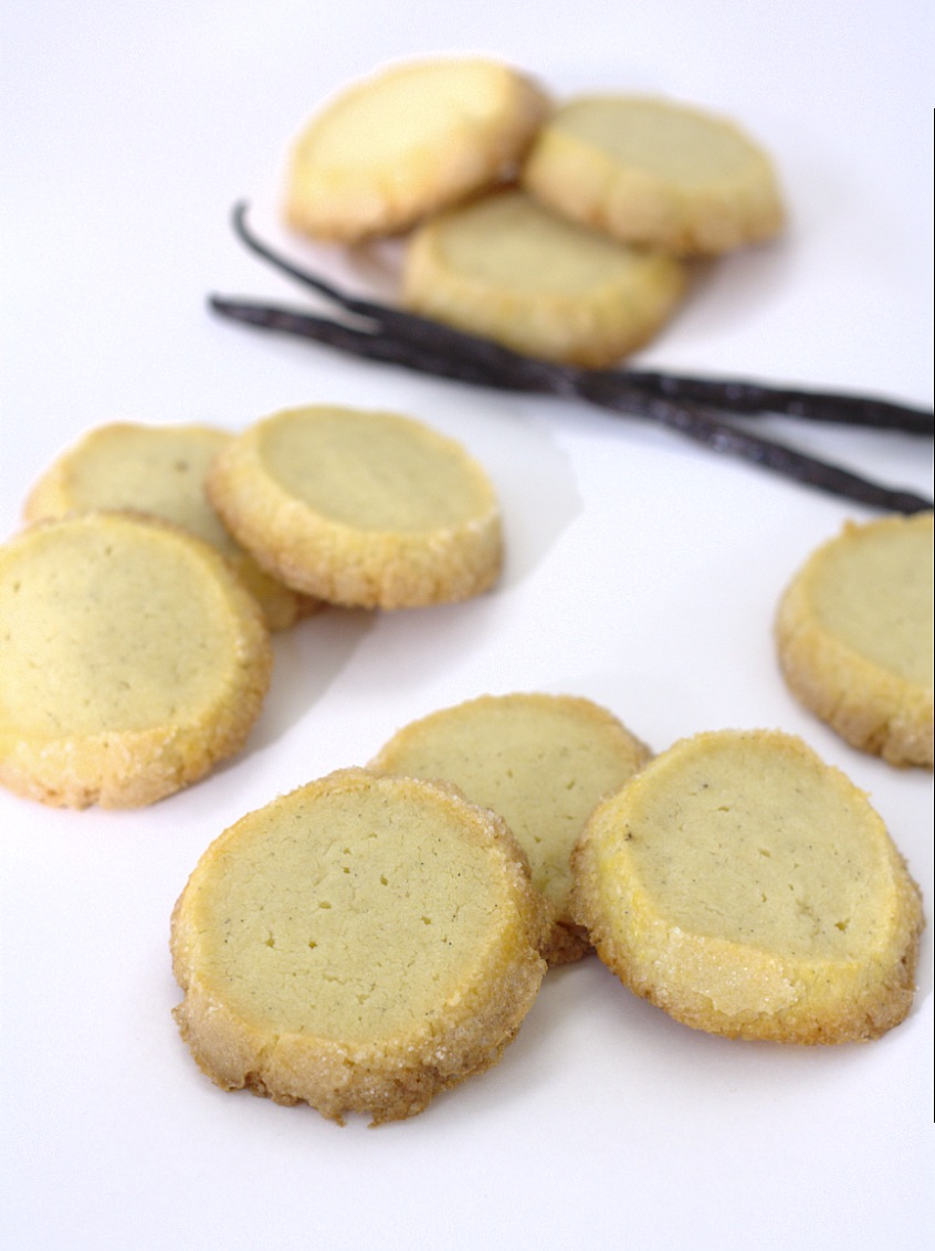 Vanilla Bean Sable Cookies | Kristine's Kitchen