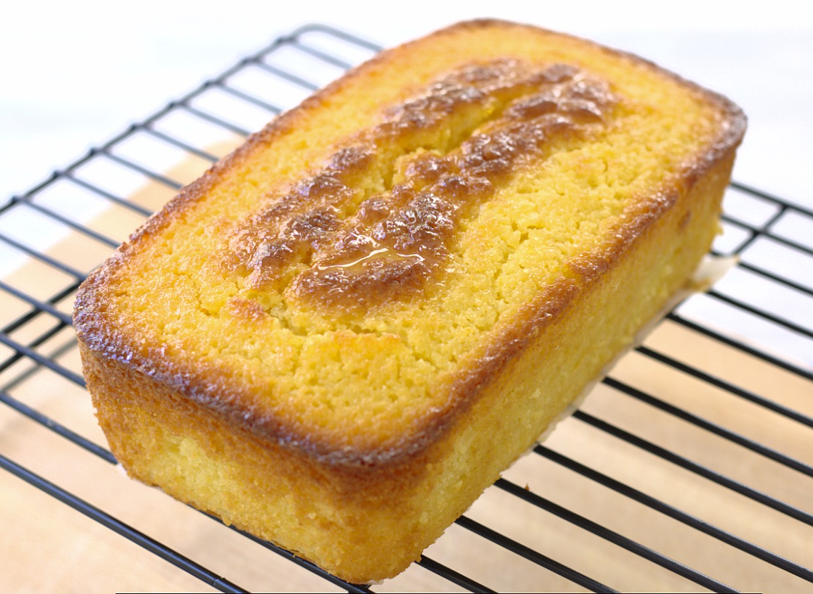 Ricotta Orange Pound Cake - an incredibly moist cake bursting with fresh orange flavor | Kristine's Kitchen