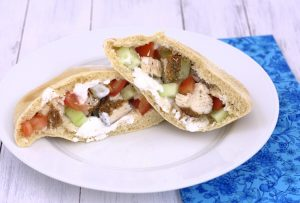Mediterranean Chicken in Pitas~Kristine's Kitchen