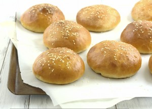 Brioche Burger Buns | Kristine's Kitchen