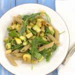 pasta with grilled summer squash_3939