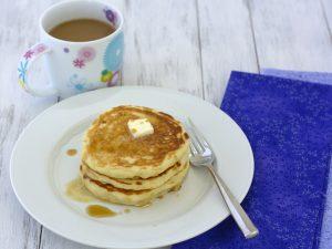 the best buttermilk pancakes- Kristine's Kitchen