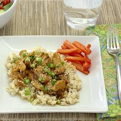 Honey Sesame Chicken (Slow Cooker) ~ Kristine's Kitchen