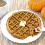 pumpkin waffles from Kristine's Kitchen
