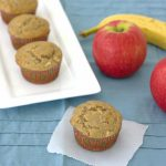 banana-apple cinnamon muffins, Kristine's Kitchen