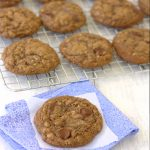 Cocoa Oatmeal Chocolate Chip Cookies