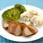 Chili-Rubbed Pork Tenderloin with Apricot Glaze