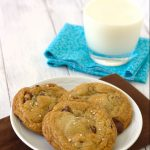 chocolate chip cookies with nutella, brown butter large_6646