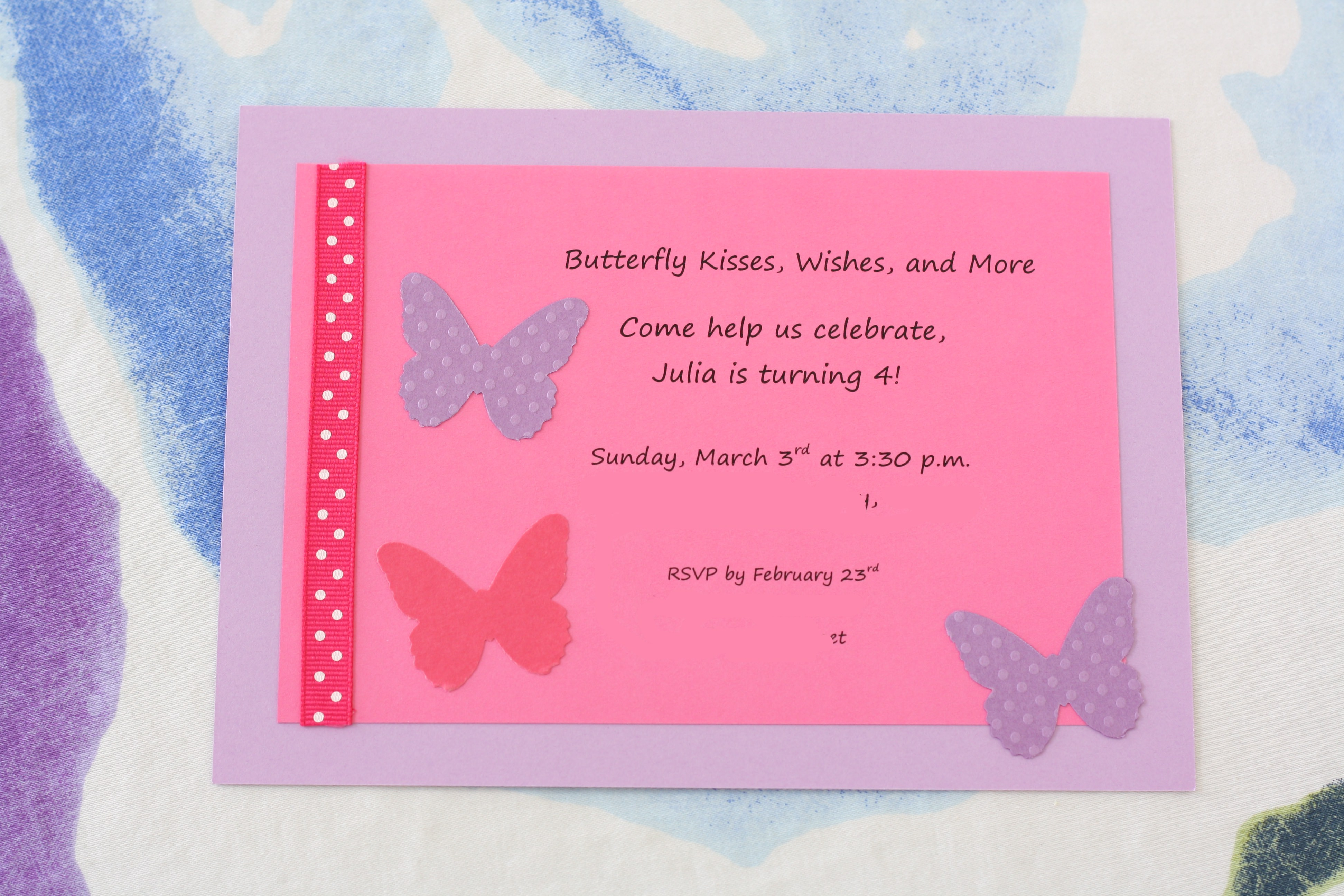 Butterfly Cupcakes for Julias Butterfly Birthday Party – Butterfly Birthday Party Invitations