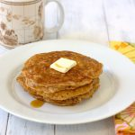 Whole Wheat Oatmeal Pancakes by Kristine's Kitchen