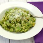 Pasta with Broccoli Pesto | Kristine's Kitchen