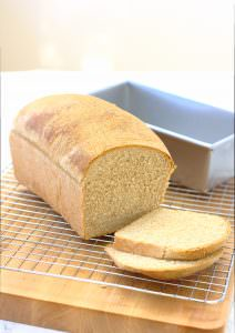 Whole Wheat Sandwich Bread from Kristine's Kitchen