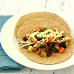 Zucchini and Black Bean Tacos from Kristine's Kitchen