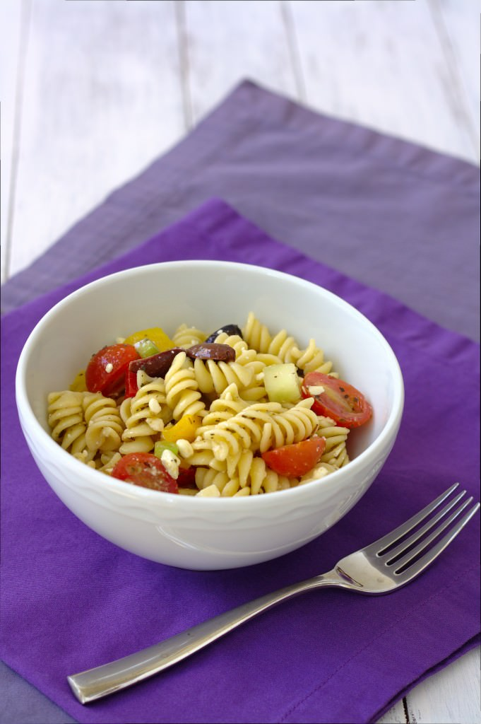 Greek Pasta Salad~ Kristine's Kitchen