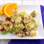 Quinoa Salad with Grapes, Celery, and Chicken~Kristine's Kitchen