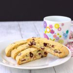 Cranberry Almond Biscotti by Kristine's Kitchen