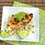Margarita Chicken with Cilantro-Lime Rice and Guacamole