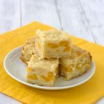 Peach Pie Bars | Kristine's Kitchen