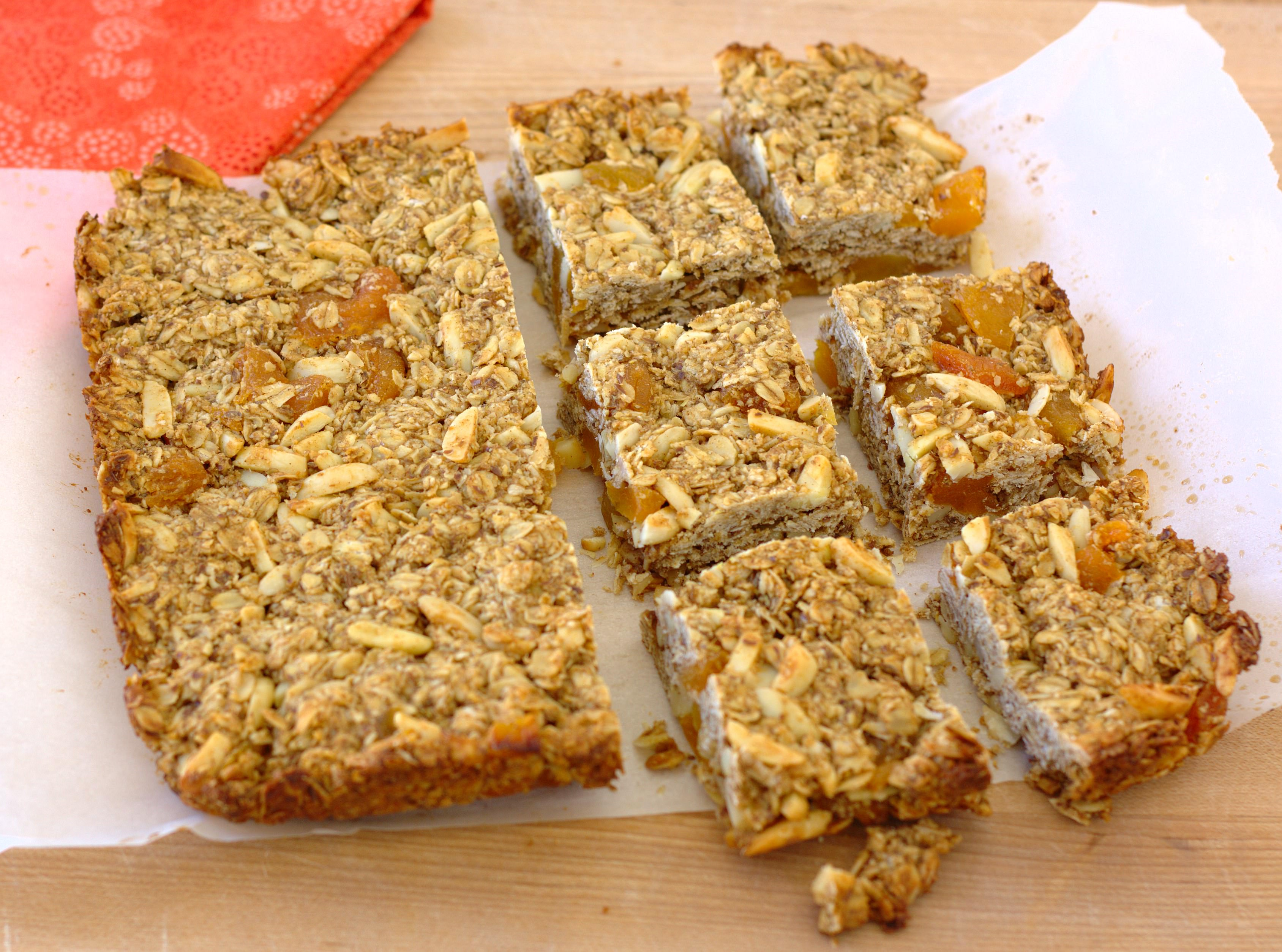 Thick and Chewy Granola Bars - Kristine's Kitchen