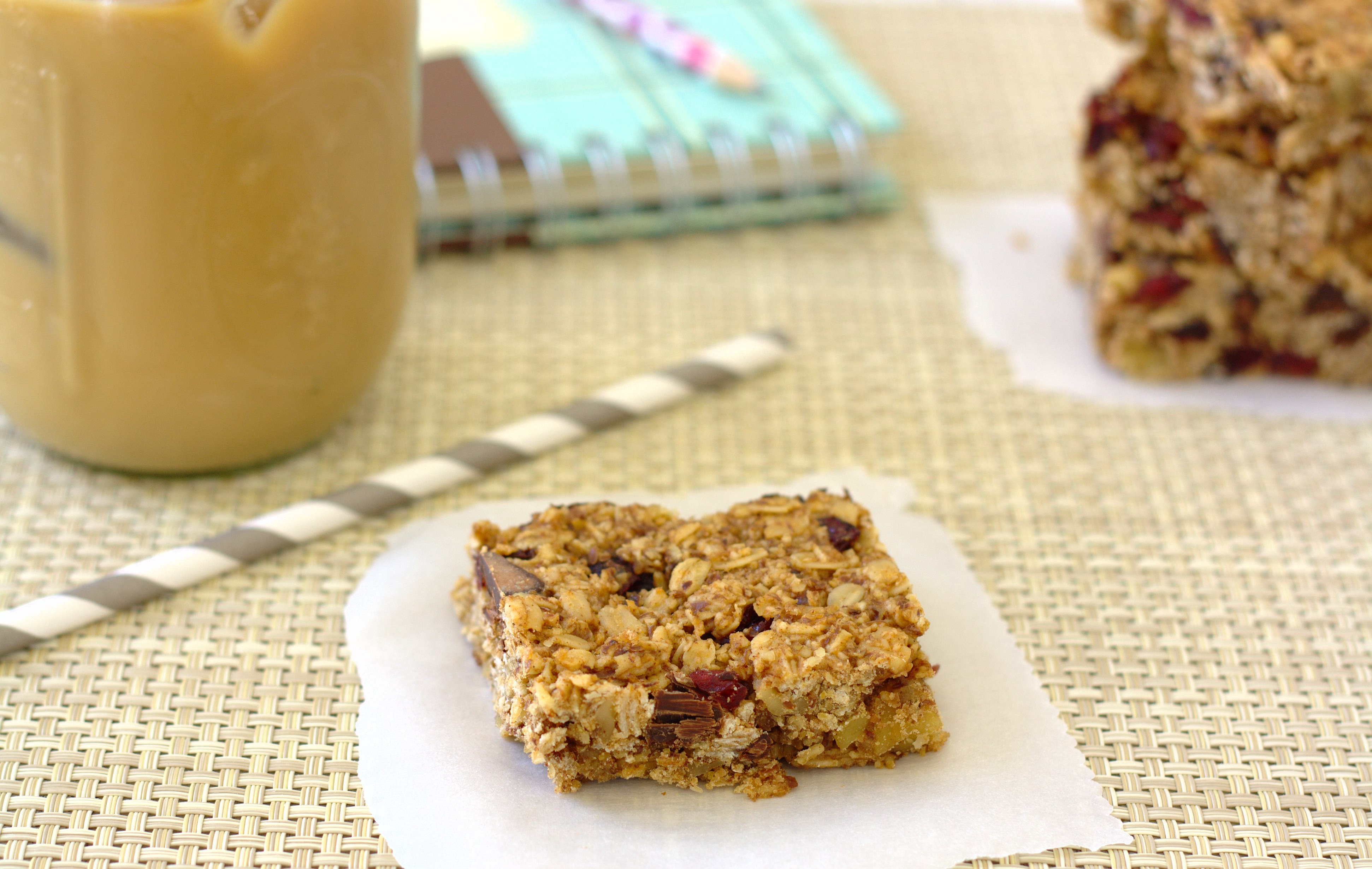 Thick and Chewy Granola Bars | Kristine's Kitchen